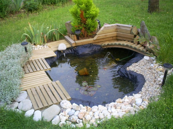 Tendance d co le bassin de jardin for Bassins de jardin photos