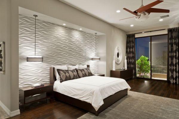 Le bon éclairage pour une chambre à coucher